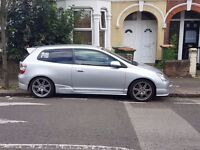 HONDA CIVIC TYPE R, MINOR SCRATCHES, GOOD CONDITION, 9 PREVIOUS OWNERS