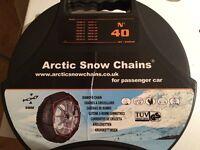 Car Artic snow chains