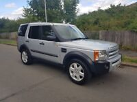 2007 LAND ROVER DISCOVERY 3 TD 2.7 V6 + FSH + AUTOMATIC + 7 SEATER