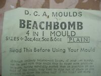 BEACH BOMB 4 IN 1 MOULD