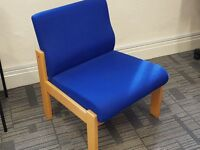 Blue Office Chairs...Excellent Condition