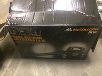 2 x McCulloch GBV 345 leaf blowers £70 each