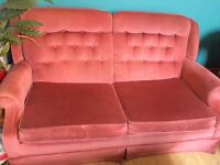 Sofa bed .... old and in fair condition. Comfortable as a sofa. £10 buyer collects