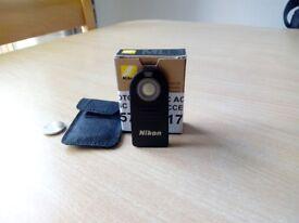 Nikon Digital Camera Remote Controller / Trigger ML-L3 Mint Condition