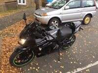 kawasaki ninja 250 low mileage