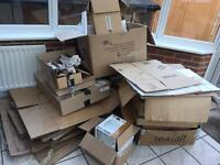 Free packing boxes for moving