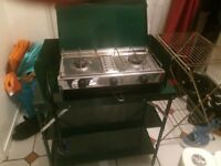 calor gas cooker and stand