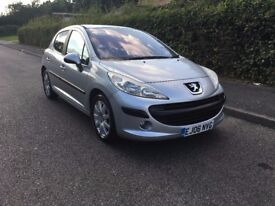 PEUGEOT 207 SE HDI WITH ONLY 40,000 MILES FROM BRAND NEW YEARS M.O.T DRIVES SUPERB ONLY £1995