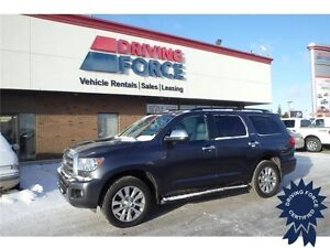 2014 Toyota Sequoia Limited 4x4, Leather Seats, 8-Passenger, A/C