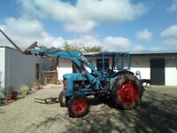 Fordson Major with front loader