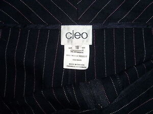 Brand New - Women's Black Dress Pants from Cleo, sz 18 London Ontario image 2