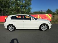 2010 WHITE BMW 118d 2.0 SPORT, FSH, 2 KEYS, LOW TAX.