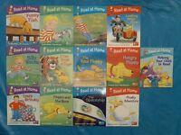 Read at Home, Biff Kipper Chip Reading Book Scheme, Levels 1/2/3/4 + Parent Handbook