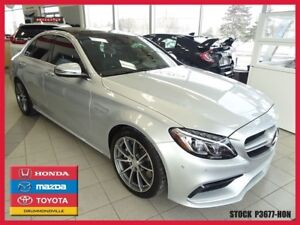2016 Mercedes-Benz C-Class C63 AMG+GPS+PREMIUM PACK+HEAD UP DISP