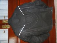 "Leather Motorbike Jacket, Mens Size L, 40/42"" Chest. Warrior Gear Brand."