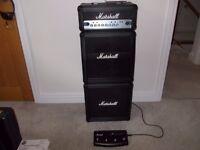Marshall MG15HCFX Micro Stack Guitar Amp