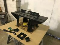 TREND Router Table 110v and Router Table Insert Plate