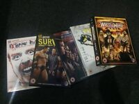 5 WWE PPV 2010 DVD'S (WrestleMania 26, WWE TLC, Survivor Series, Extreme Rules & Bragging Rights)