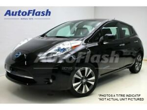 2015 Nissan LEAF SL *Quick-Charge* Camera-360 * Cuir/Leather *