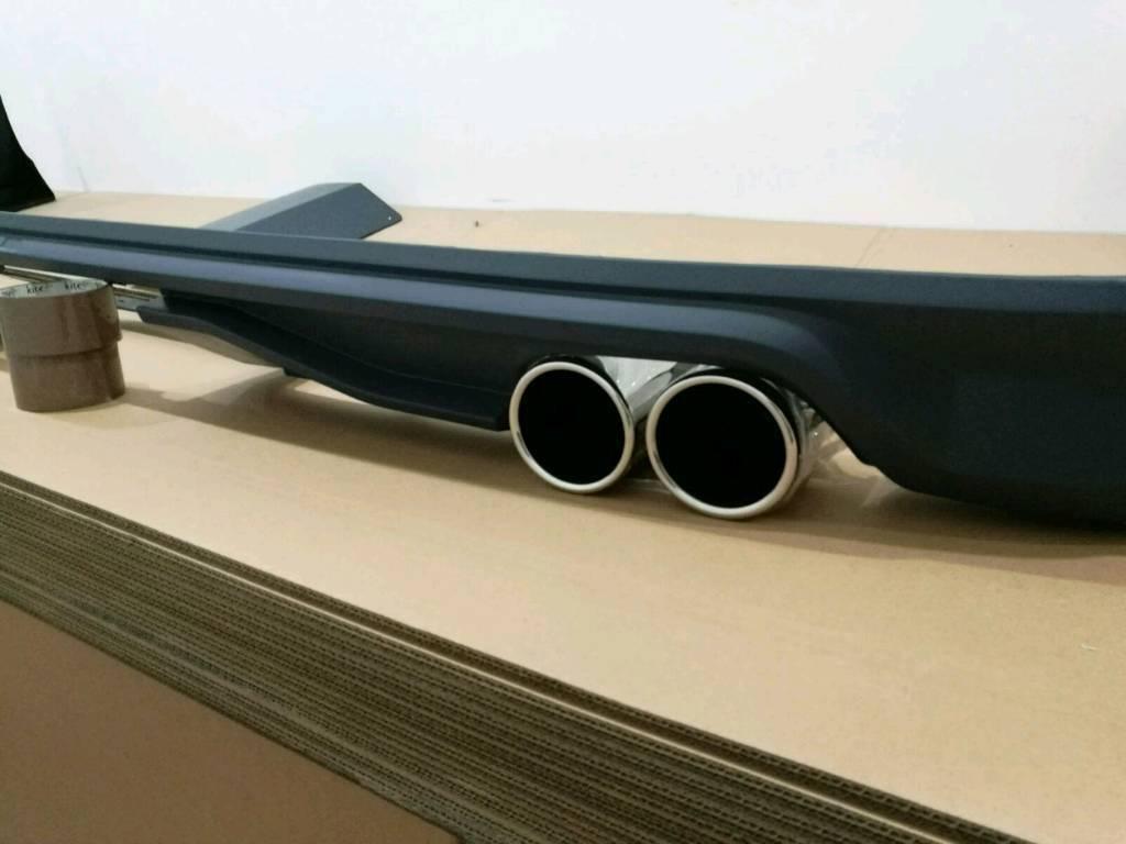 vw transporter t6 rear bumper spoilet