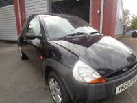 FORD KA BLACK 3DR 1.3 PETROL++FULL YEARS MOT++DRIVES GREAT