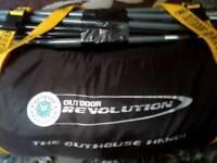 Outdoor revolution storage tent