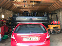 honda civic eg6 sir front and rear bumpers