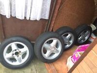 185 60 14 *5.5J set of whee/ tyre/rim for Ford Fiesta
