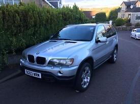 BMW X5 3.0 petrol