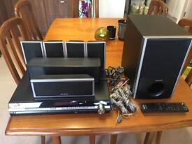 Sony surround sound 5.1 dvd home theatre system