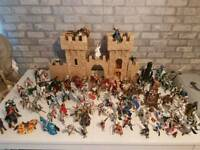 Schleich knights and castle