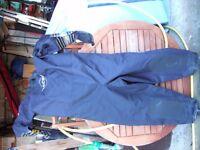 Unused Typhoon Racer breathable drysuit, brass zip, size M, uncut seals,