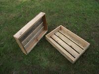 Handmade wooden multi purpose trays.