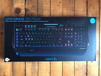 New Logitech G910 Orion Spectrum RGB Mechanical Gaming Keyboard