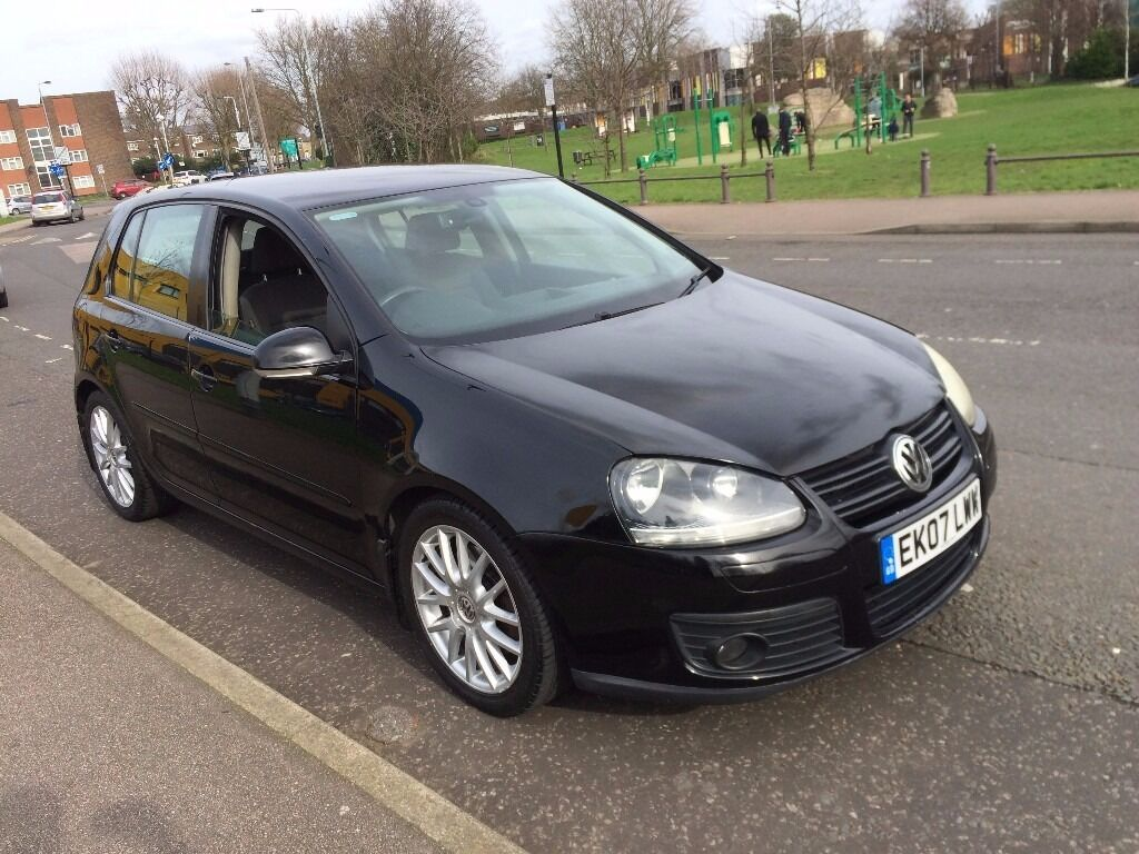 vw golf 2 0 gt tdi 170 bhp 2007 5 door full vw history long mot 2 keys clean car hpi clear in. Black Bedroom Furniture Sets. Home Design Ideas