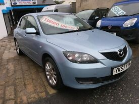 2007 Mazda Mazda3 1.6D TS2 2 KEYS LONG MOT PART EXCHANGE TO CLEAR