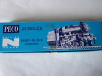 N gauge Model train - Peco Jubilee