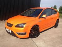 2006 (56) Ford Focus 2.5 SIV ST 2 3dr ORANGE, Service History Finance & Extended Warranty Available