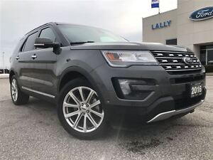 2016 Ford Explorer Limited 4WD Navigation Dual Panel Moonroof