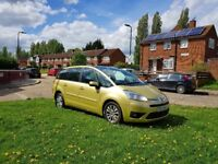 2007 CITREON C4 GRAND PICASSO 7 SEATER