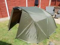 Trakker tempest brolly with mozzi net and new utility front
