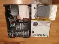 Huge PlayStation 1 Ps1 Console Bundle Boxed Original Packaging Controller 40 Games
