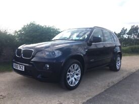 2010 BMW X5 3.0d M SPORT, FULL BMW SERVICE HISTORY, MOT WITH NO ADVISORIES, ABSOLUTELY FAULTLESS!
