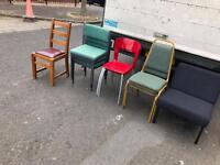 Selection of chairs £10 each