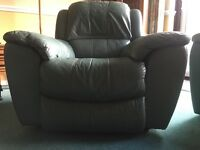 Electronic leather chair