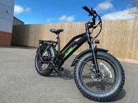 Electric Mountain Bike eBike Fat Tyres 350W 36V13AH Suspension Unisex Bike Brand New