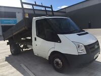 Ford transit 2011 van tipper pick up 2.4 6 speed 140 bhp drives great 11 months mot ready for work