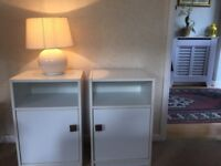 Bedside tables with a built in Cabinet