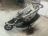 Double child buggy