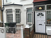 Double room in 2 bed house, east London, e10., mid terrace, spacious living room and back garden